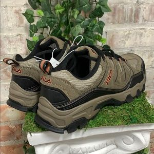 NIB Men's Fila Midland Athletic Hiking Shoe Brown Boutique